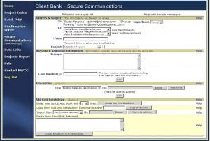 Client Secure Message Form